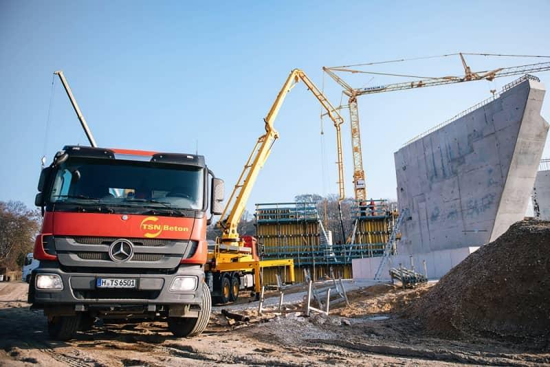 Neubau Möbelhaus Mit Tiefgarage Tsn Beton